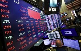 美股周一收盘全线大涨,道指涨911