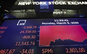 美股周四下挫,科技股集体下挫,纳指一度大跌5%