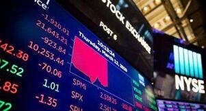 美股10月28日大幅下跌,道琼斯指数下跌940点,大型科技股普跌