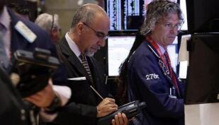美国三大股指周五收盘涨跌不一
